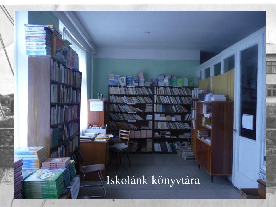Iskolánk könyvtára