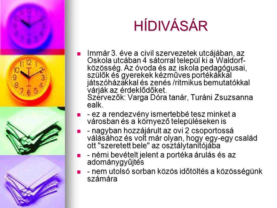 HÍDIVÁSÁR  Immár 3.