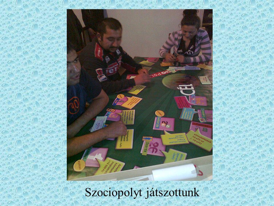 Szociopolyt játszottunk