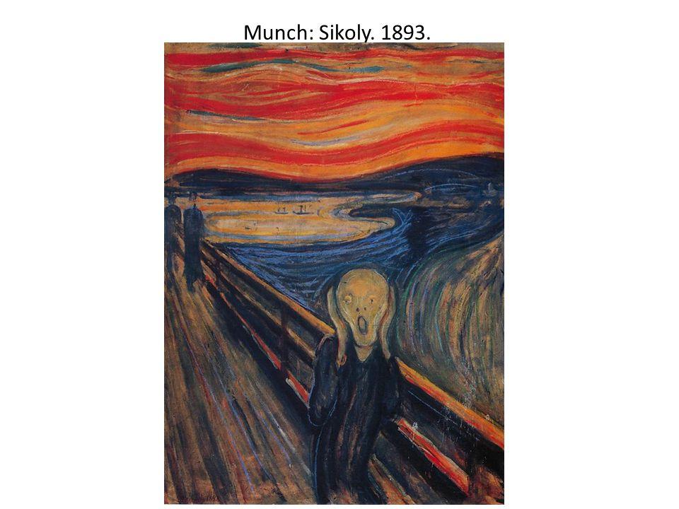 Munch: Sikoly. 1893.