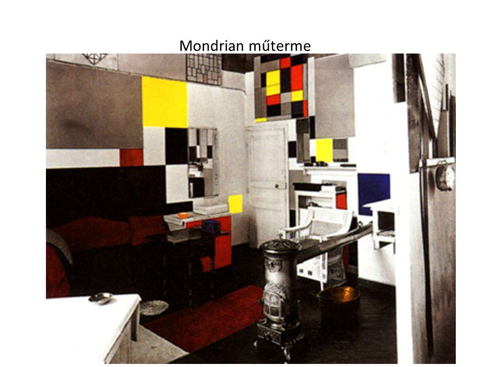 Mondrian műterme