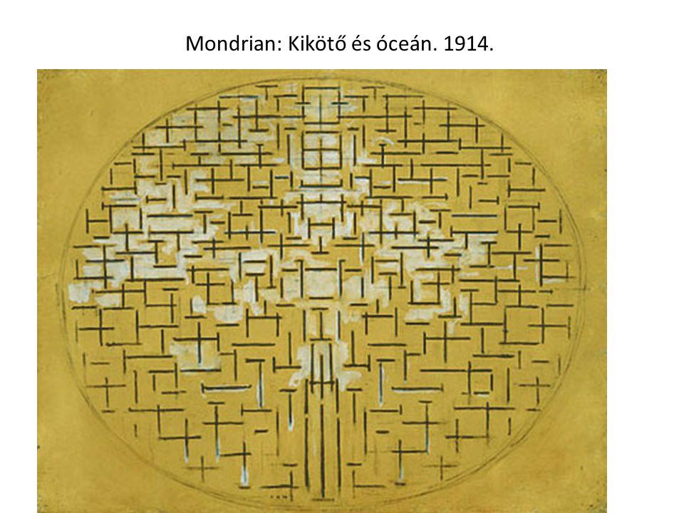 Mondrian: Óceán. 1915.