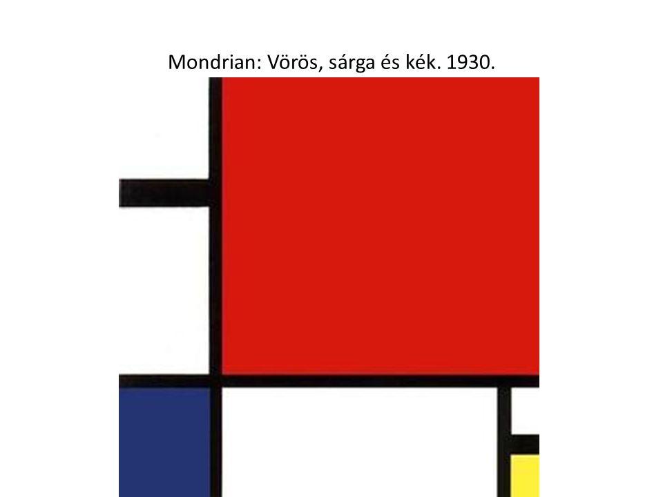 Van Doesburg: Művészlakás terv.