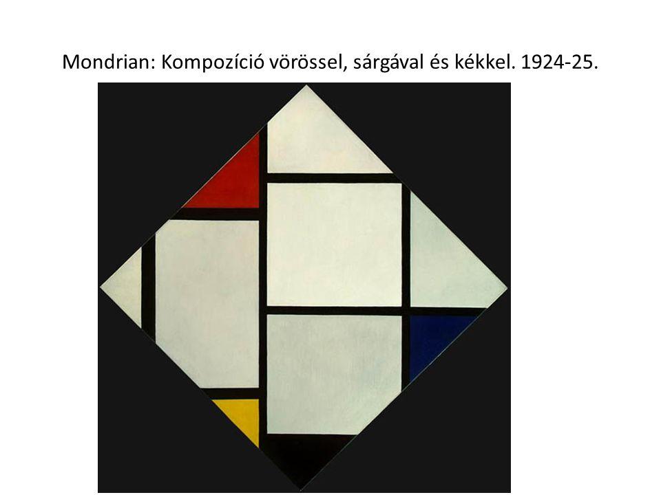 Kazimir Malevics: Fehér alapon fekete négyzet. 1915.