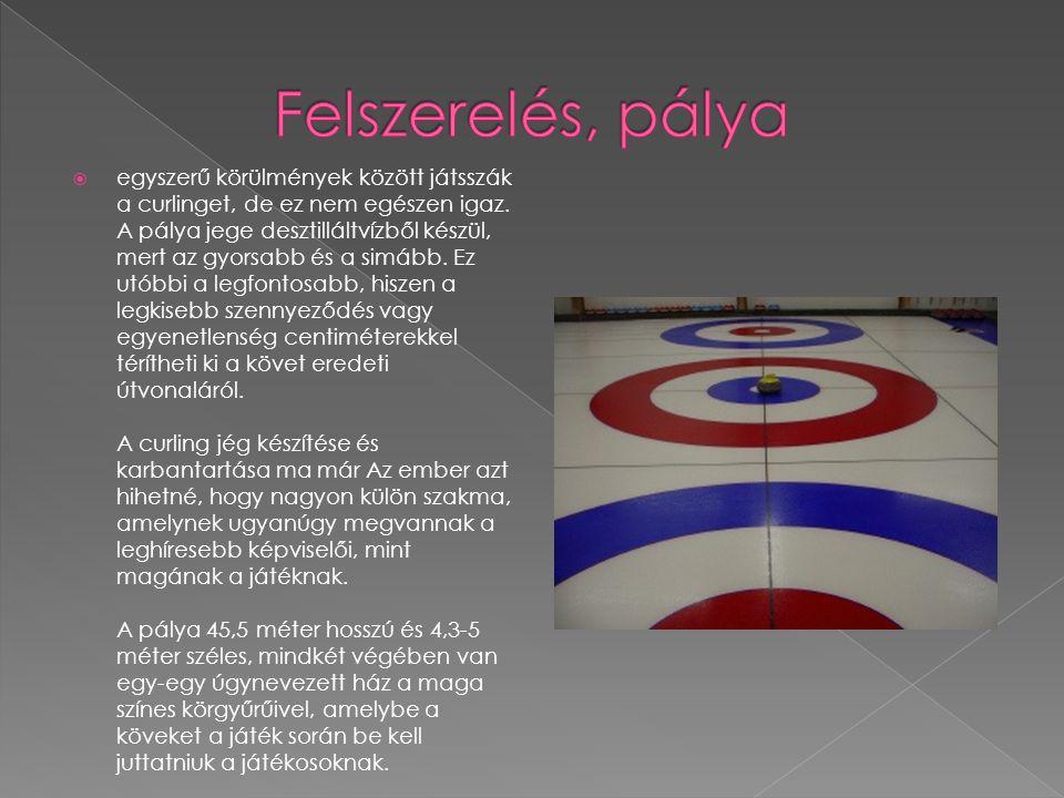  egyszerű körülmények között játsszák a curlinget, de ez nem egészen igaz.