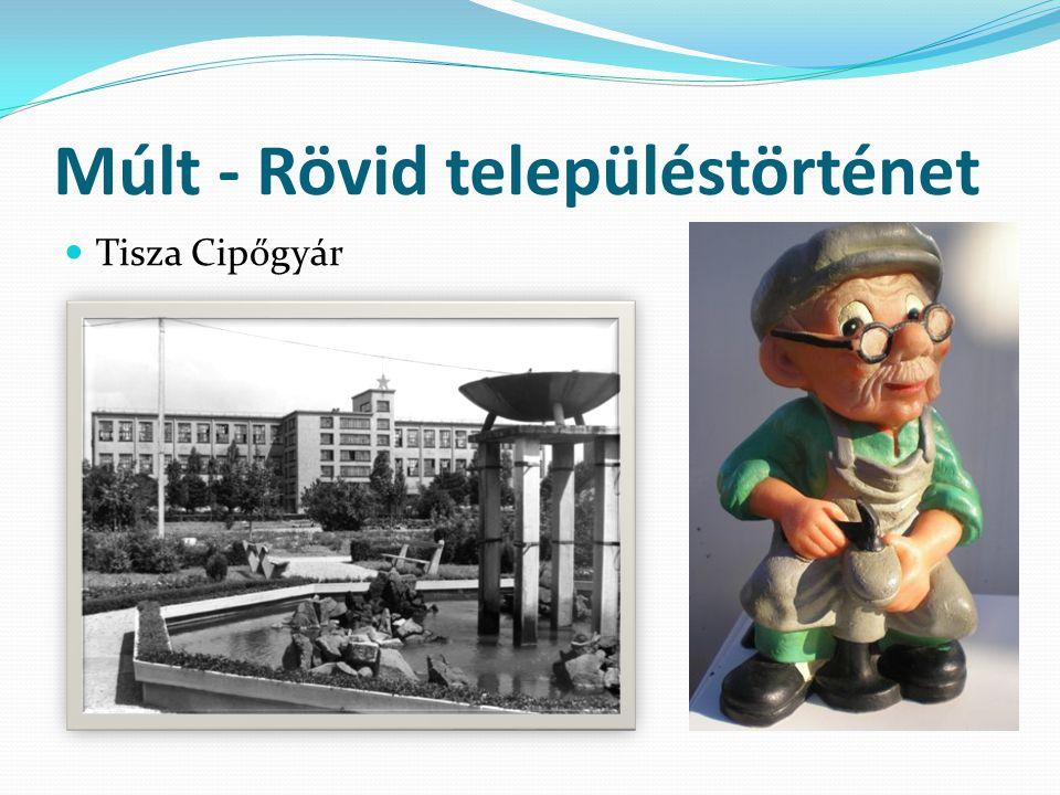 Múlt - Rövid településtörténet  Tisza Cipőgyár