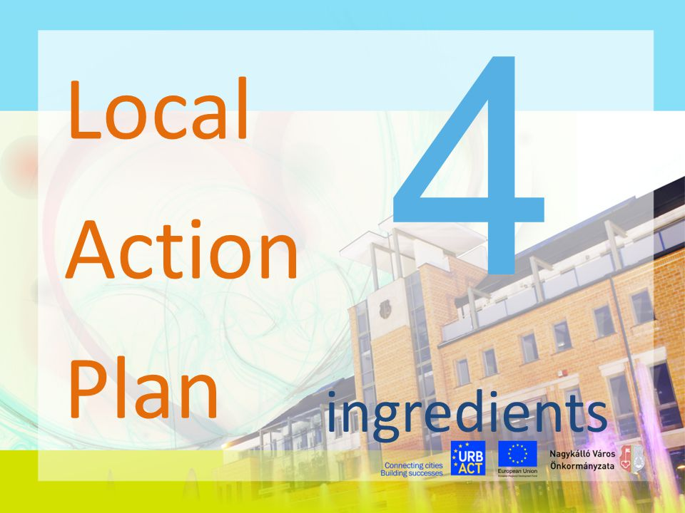 4 Local Action Plan ingredients