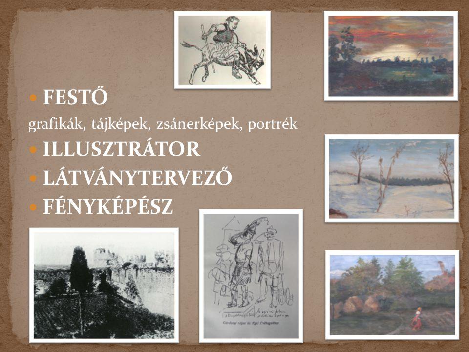  1894-től Feszty Árpád-féle körképvállalat titkára népszerűsítette a körképet különféle írásokkal, bejáratos a Jókai- Feszty szalonba  1895-ben sajá