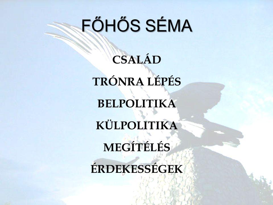 A régi szép idők •A•Attila – Csaba – Ed – Ügyek – Előd – Álmos •H•Honfoglalás –V–V.