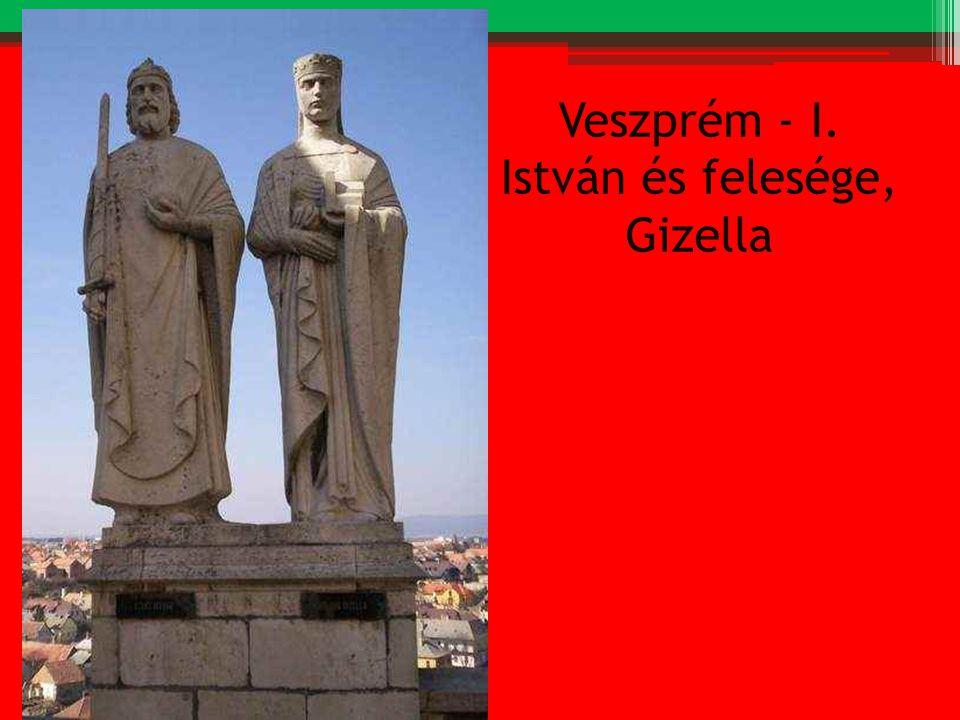 Veszprém - I. István és felesége, Gizella