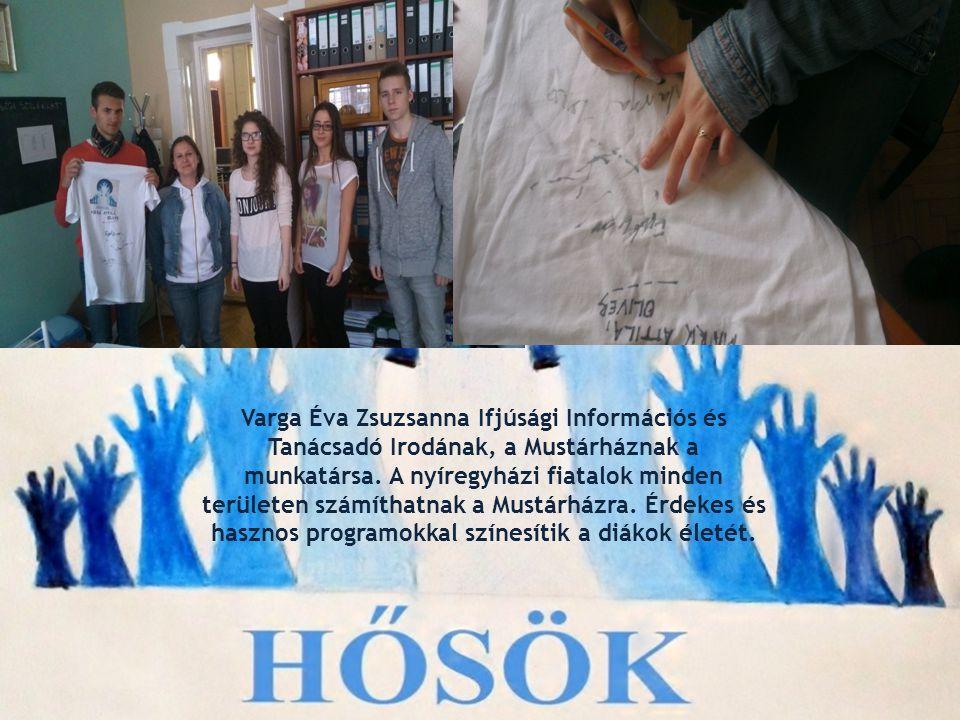 Varga Éva Zsuzsanna Ifjúsági Információs és Tanácsadó Irodának, a Mustárháznak a munkatársa. A nyíregyházi fiatalok minden területen számíthatnak a Mu