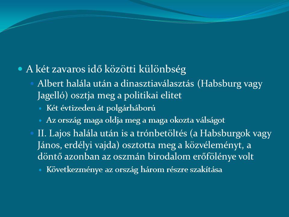 """ (7.) A váradi béke és a várnai csata  A szultáni ajánlat előnye Brankovics György illetve Ulászló számára: önálló ország, azaz az oszmán-magyar határ megszűnte  Hunyadi """"sikerdíja : Brankovics (részben Lazarevicstől örökölt) magyarországi birtokai  A magyar nemesség (=köznemesség) háborúpárti  Királyi eskü Cesariniék előtt az áprilisi országgyűlésen  Megbízólevél a drinápolyi tárgyalásokra  Nemzetközi haditerv: szárazföldi harc, tengeri blokád"""