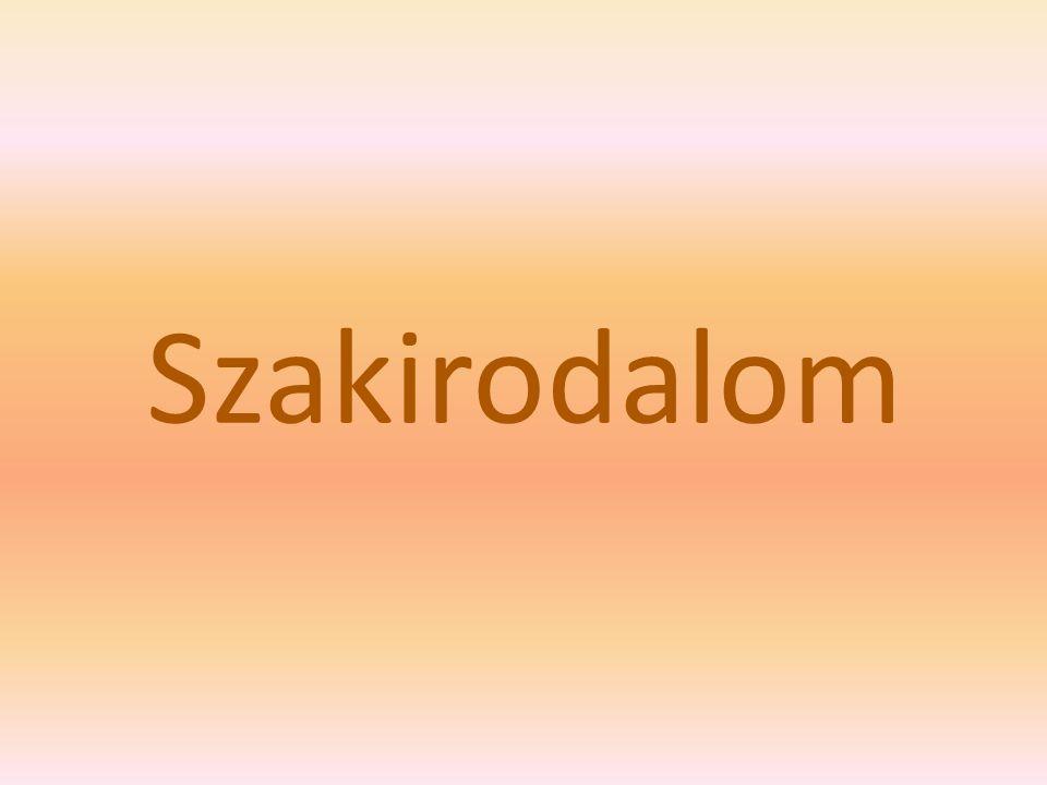 Szakirodalom