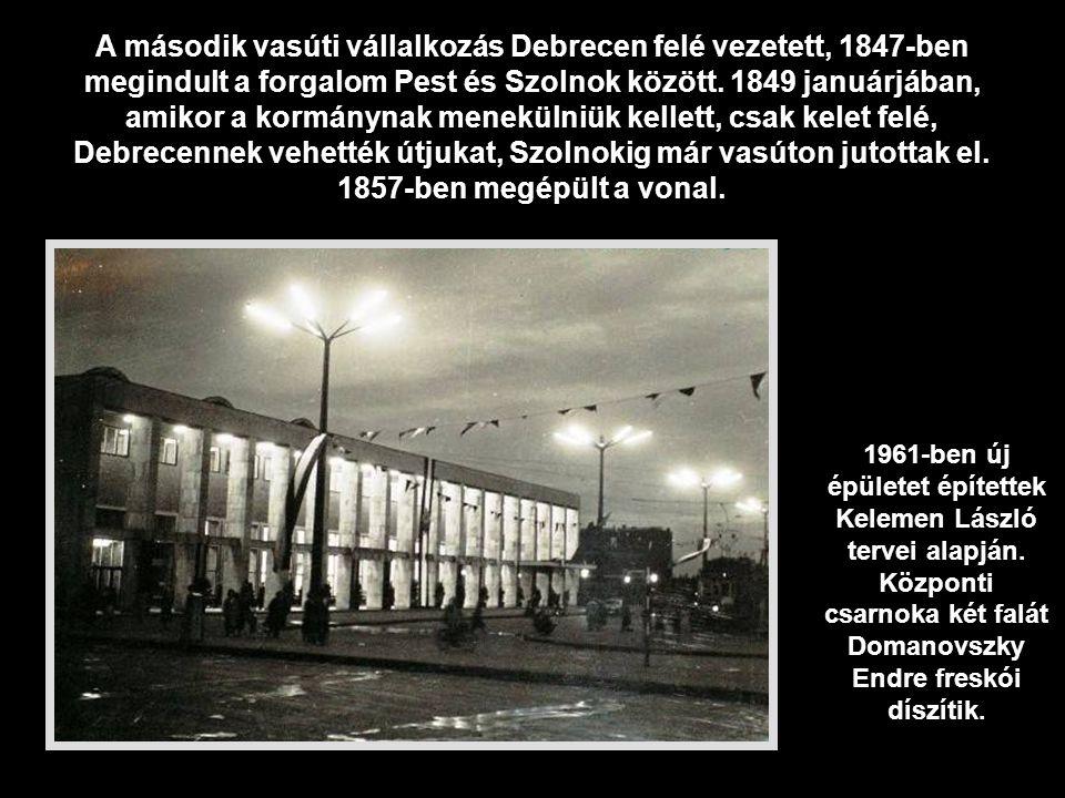 A Pest–Debrecen vasút a merész ötletek körét gazdagította a reformkorban, ha még Deák Ferenc, a nagy magyar államférfi is így vélekedett.