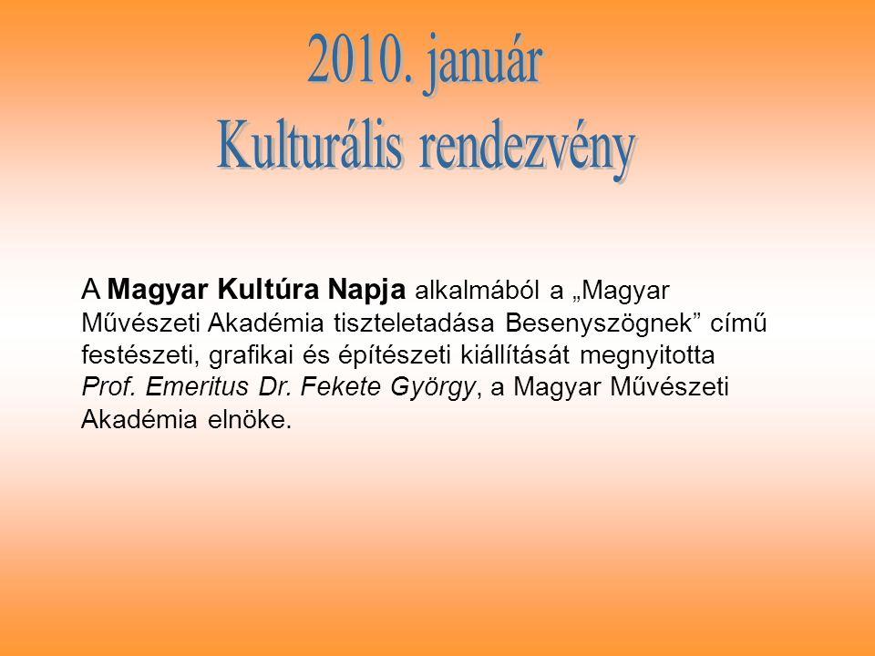 Dr.Fekete György egy napja Besenyszögön A Magyar Kultúra Napját 1989.
