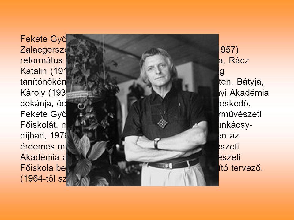 Fekete György 1932. szeptember 28.-án született Zalaegerszegen. Édesapja, Fekete Károly (1900-1957) református lelkész volt Zalaegerszegen. Édesanyja,