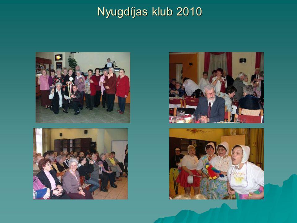 Nyugdíjas klub 2010