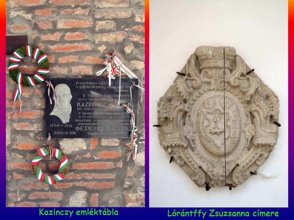 Emléktábla a Rákóczi ház falán Milleniumi emlékmû