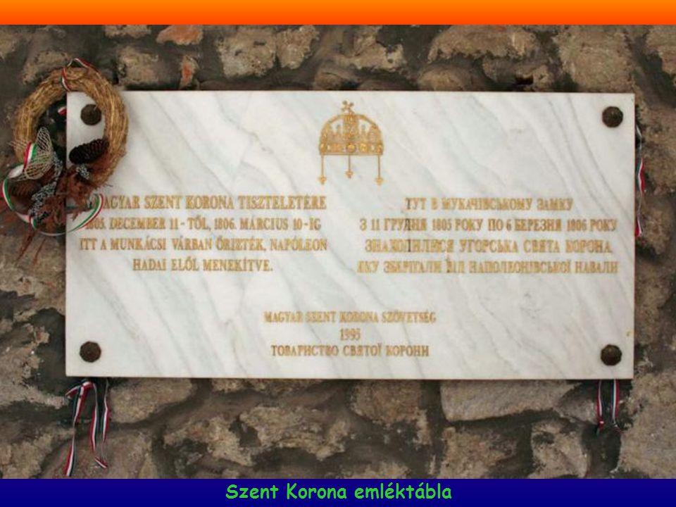 Lórántffy Zsuzsanna címere Kazinczy emléktábla