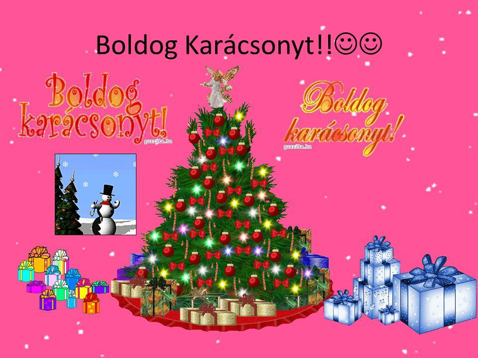Boldog Karácsonyt!! 