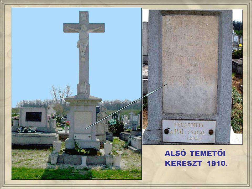 ZSÁMBOKI KERESZT A PALLA TANYÁNÁL DIE 8.JÚNI ANNO 1793. 1999-BEN ÚJÍTOTTÁK FEL