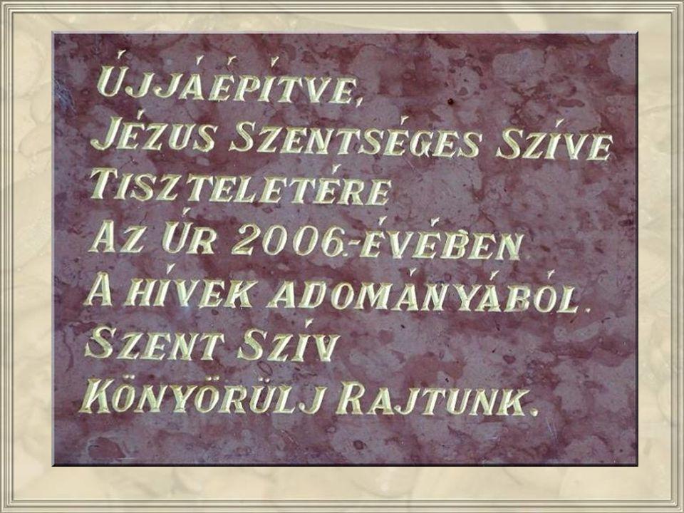 2002- BEN LETT FELAVATVA A RÉGI, ELBONTOTT LEÁNY ISKOLA HELYÉN