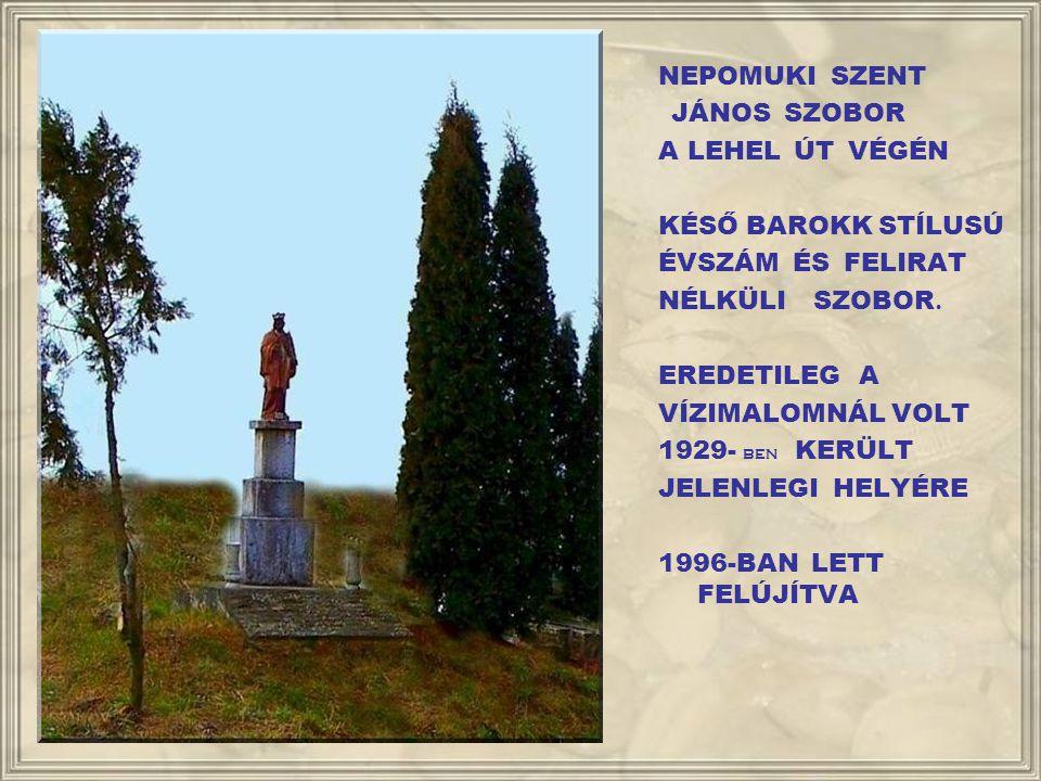 A MILLECENTENÁRIUMI EMLÉKTÁBLA A TEMPLOM BEJÁRATÁNAK BAL OLDALÁN 896 - 1996