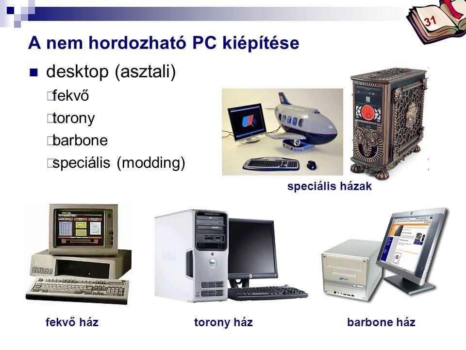 Bóta Laca  desktop (asztali)  fekvő  torony  barbone  speciális (modding) A nem hordozható PC kiépítése fekvő háztorony házbarbone ház speciális házak 31