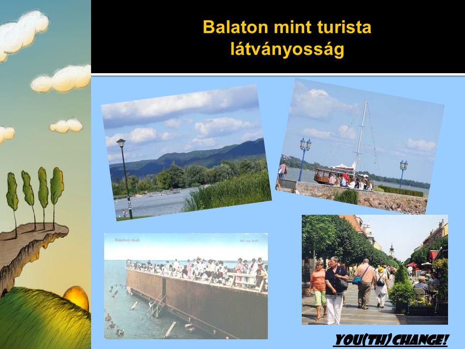 Balaton mint turista látványosság