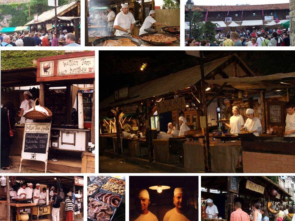 Mesterségek Ünnepe  1993-óta veszünk részt a rendezvényen  Napi 2000-2500 adag étel egy elárusító ponton
