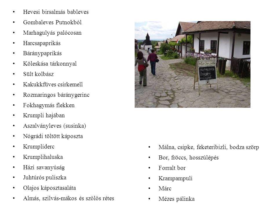 ÉTEL, ITAL Palóc falu, Észak-Magyarország, Ősz