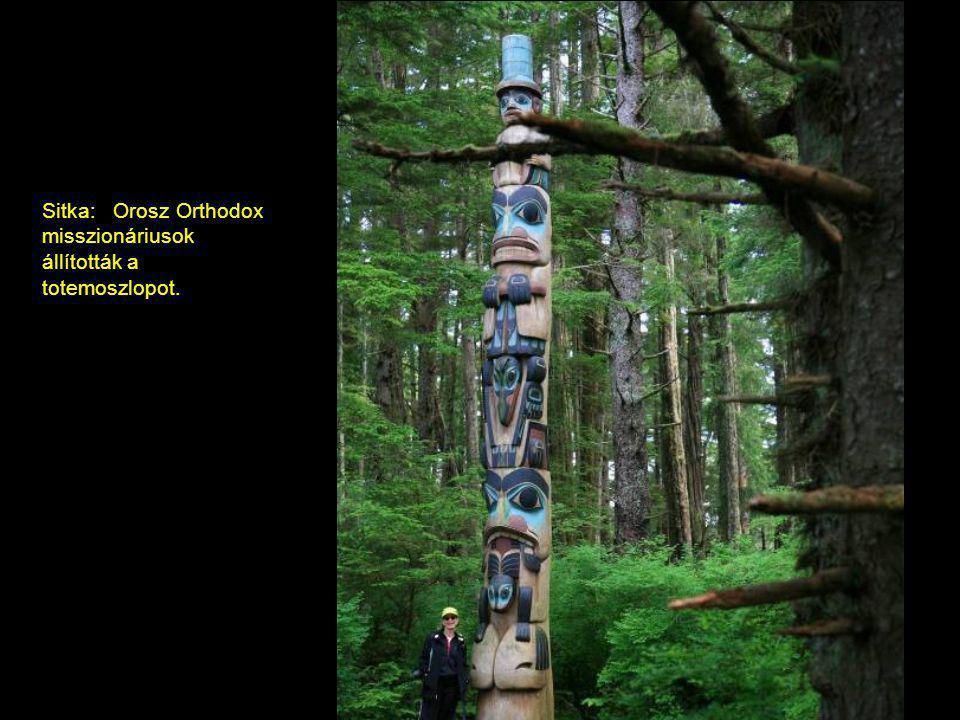 Sitka, Alaszka: orosz Orthodox templom
