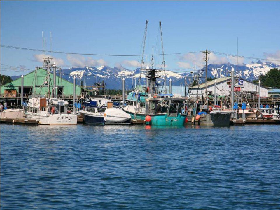 Petersburg, Alaszka: Norvég halász telepesek gyermekeinek kosztümös norvég népi tánca