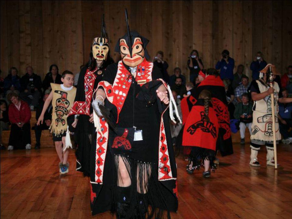 Metlakatla, Alaska: Tánccsoport, az észak- nyugati népi hagyományok őrzöi
