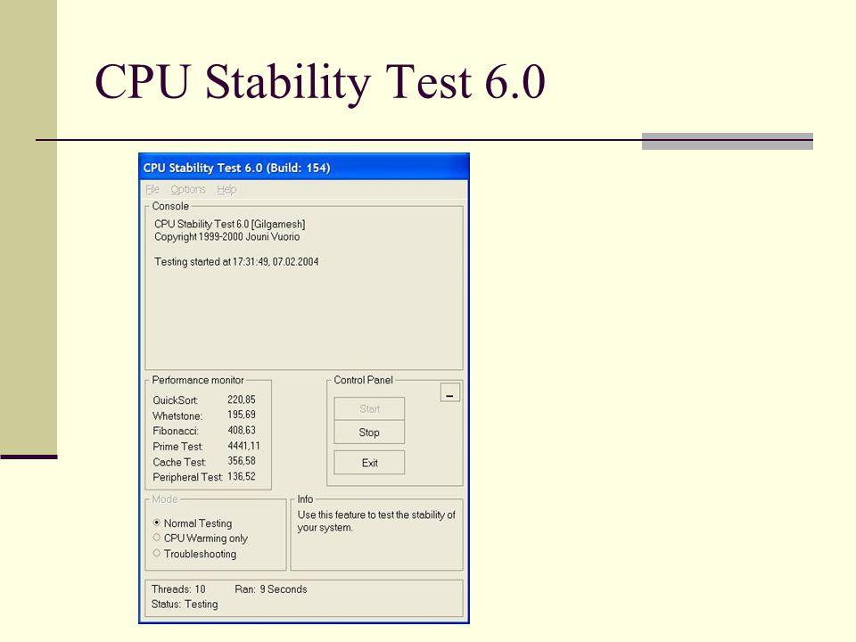 CPU Stability Test 6.0