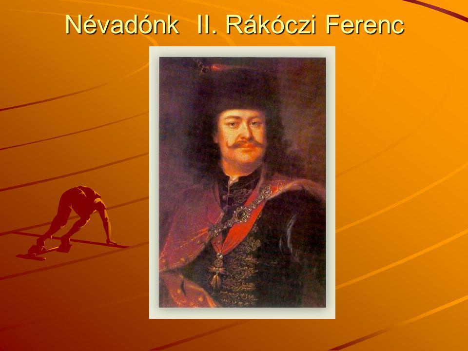 Az ifjú Rákóczi Rákóczi szülőháza Borsiban –II.Rákóczi Ferenc 1676.