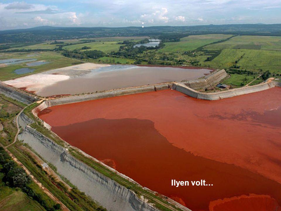 A gátszakadás következtében 1.300.000 m3 vörösiszap és víz elegye a Torna patakon keresztül elöntötte Kolontár és Devecser települések mélyebben fekvő részeit.