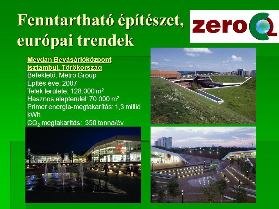 """Fenntartható építészet, európai trendek """"Alsion , Sonderborg, Dánia PPP konstrukció, közösségi terek (koncertterem) és magánfejlesztés Transzparencia, hőszivattyú, Építés éve: 2006 Hasznos alapterület: 34.200 m2"""