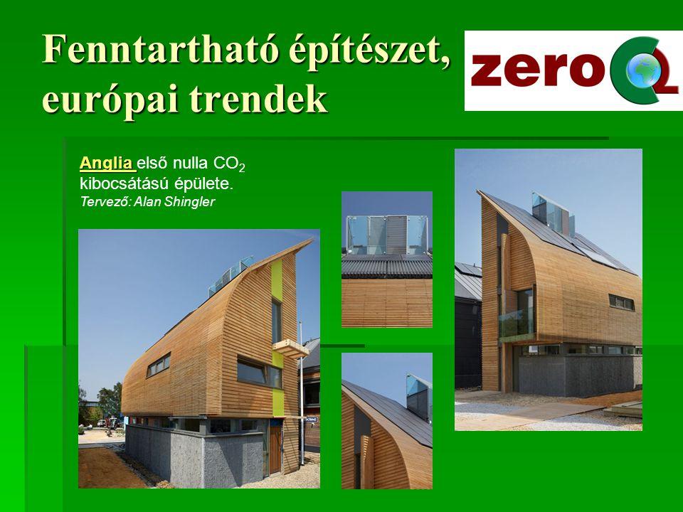 Fenntartható építészet, európai trendek Dunaújváros Solanova-projekt
