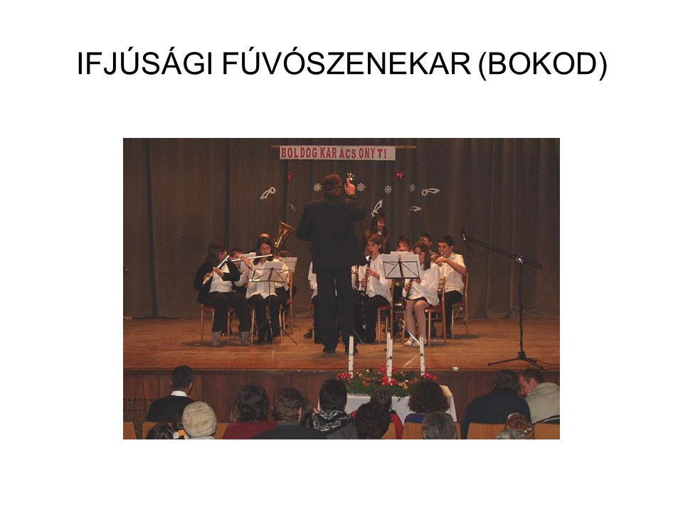 IFJÚSÁGI FÚVÓSZENEKAR (BOKOD)