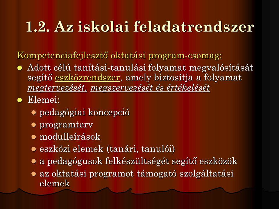 Záró gondolatok  Intézményünk mottója a 2010/2011.