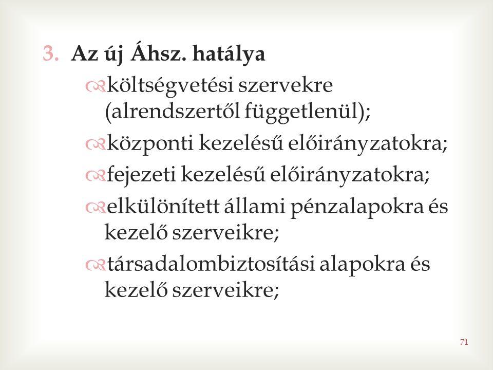 71 3.Az új Áhsz.
