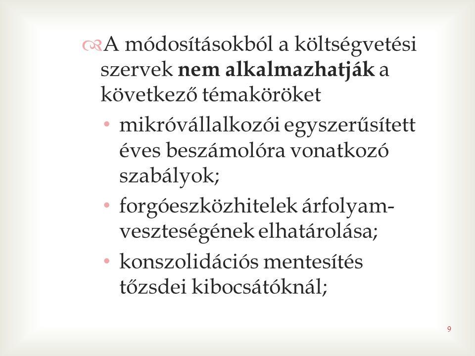  egyéb változások • számlavezetési szabályok változásai az önkormányzati alrendszerben  támogatások megnevezésénél pontosítás;  számlatípusok új számla: gépjárműadó befizetésére szolgáló fizetési számla 2013.