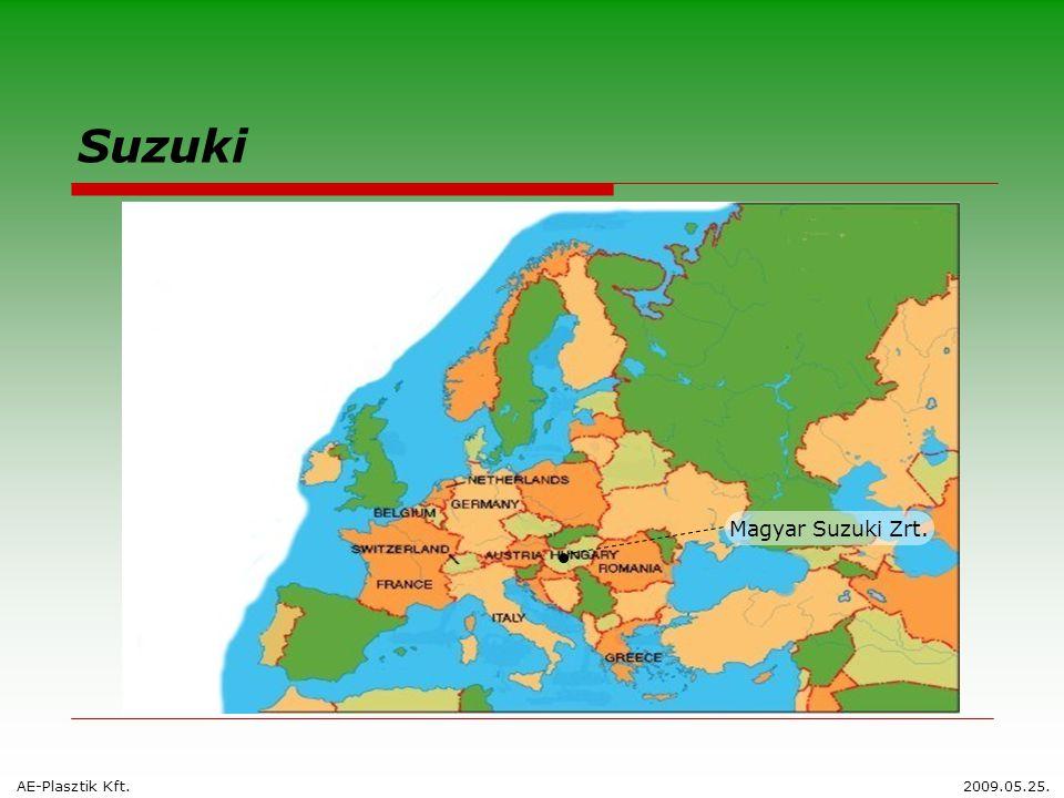 Suzuki Magyar Suzuki Zrt. AE-Plasztik Kft.2009.05.25.