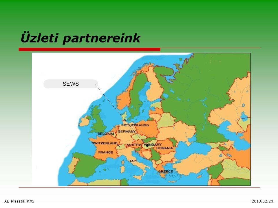 Üzleti partnereink AE-Plasztik Kft.2013.02.20. SEWS