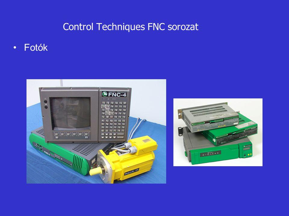 Control Techniques FNC sorozat •Fotók