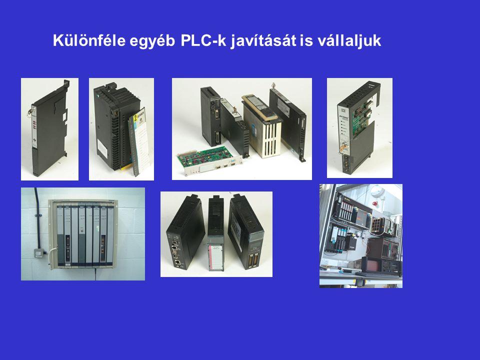 Különféle egyéb PLC-k javítását is vállaljuk
