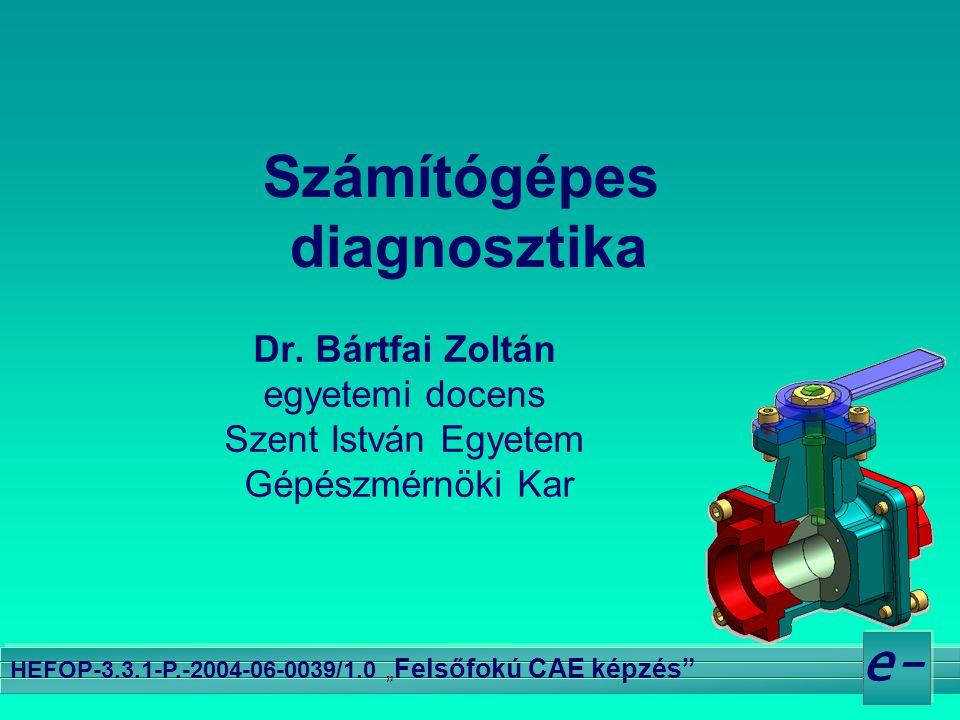 """12.e- HEFOP-3.3.1-P.-2004-06-0039/1.0 """" Felsőfokú CAE képzés Az evolúció lépései 1 1."""