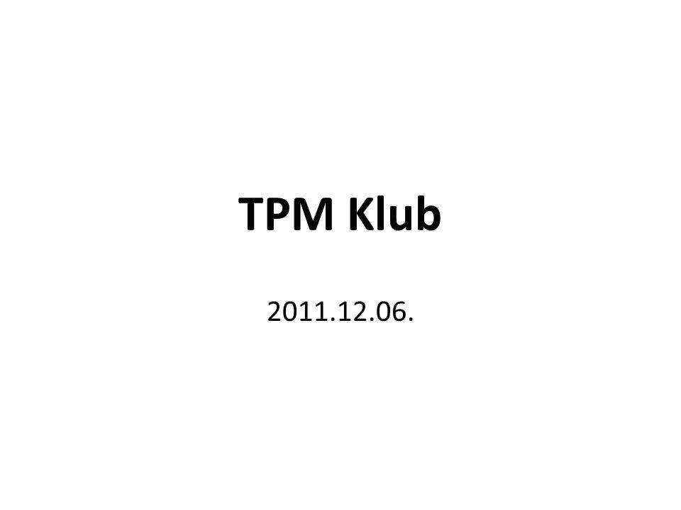 TPM Klub 2011.12.06.
