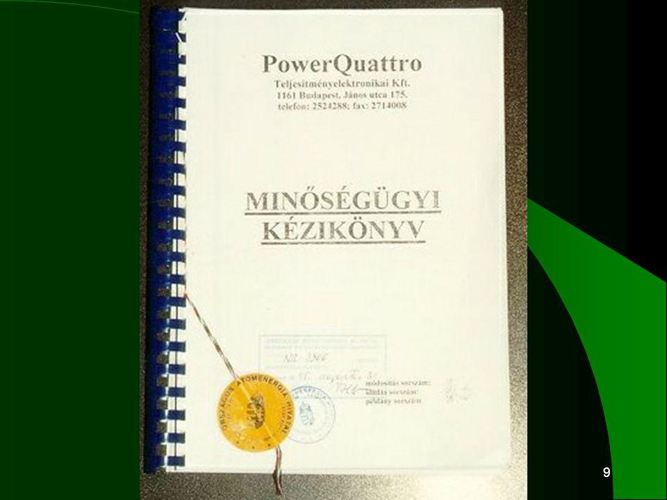 20 Felügyeleti auditok 2001–2002–ben  A PowerQuattro Rt.